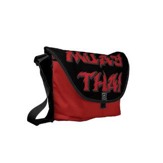 Muay Thai Small Messenger Bag