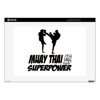 Muay Thai Superpower Designs Skins For Laptops