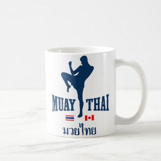 Muay Thai Thailand Canada Classic White Coffee Mug