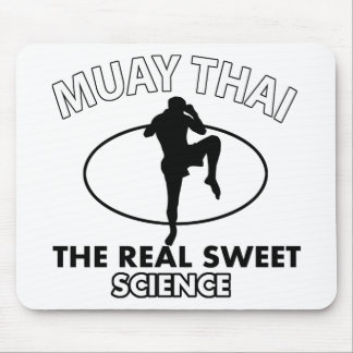 Muay Thai Vector designs Mouse Pad