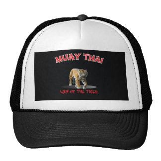 Muay Thai Way of The Tiger Hat Black