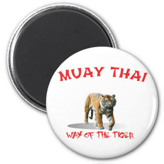 Muay Thai Way of The Tiger Magnet