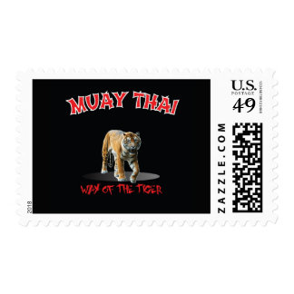 Muay Thai Way of The Tiger Stamp Black