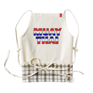 Muay Thai Zazzle HEART Apron