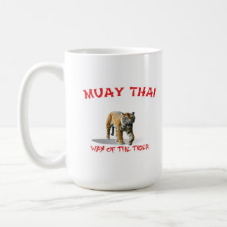 Muay Thay Way of The Tiger Mug