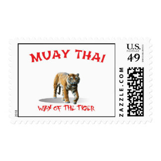 Muay Thay Way of The Tiger Stamp