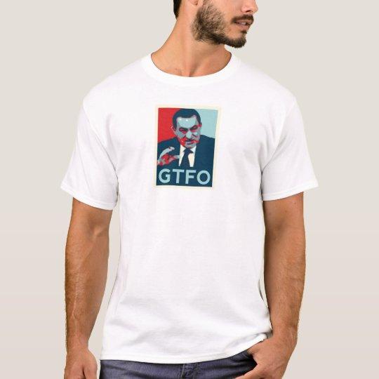 Mubarak GTFO! shirts