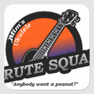 MUBS Orange/Blue Square Sticker
