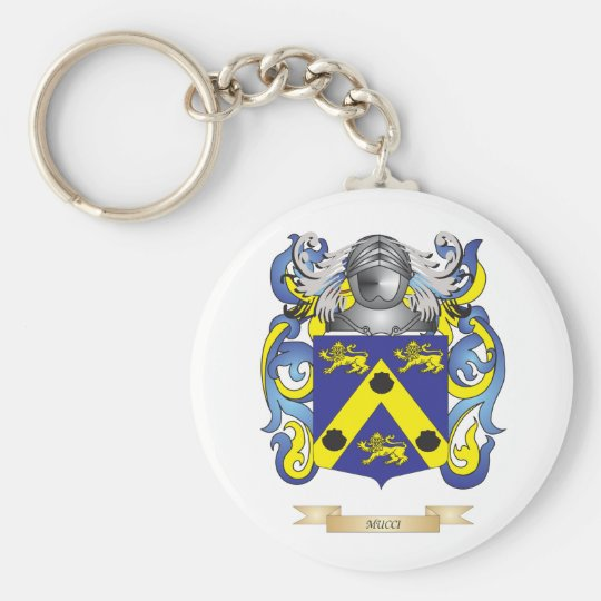 Mucci Coat of Arms (Family Crest) Keychain