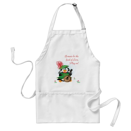 Much Ado About Penguins Apron