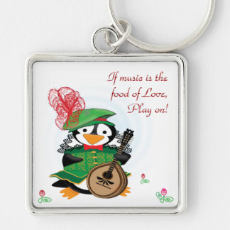 Much Ado About Penguins Keychain