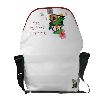 Much Ado About Penguins Rickshaw Messenger Bag
