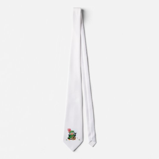 Much Ado About Penguins Tie
