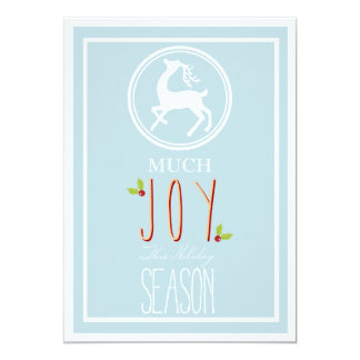 Much Joy this Season - Corporate Holiday Card