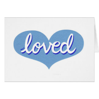 Much Loved - Note Card