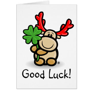 Much luck and all property with moose Elmondo®! Card