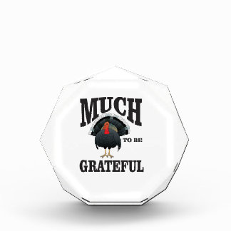much to be grateful acrylic award