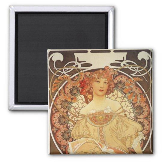 Mucha-2-1890 Magnet