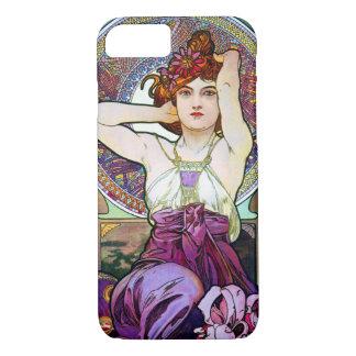 Mucha Amethyst iPhone 7 Case