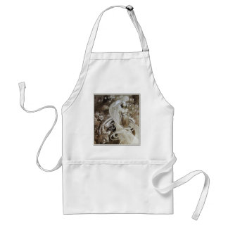 Mucha Apron: Illustration from Le Pater Adult Apron