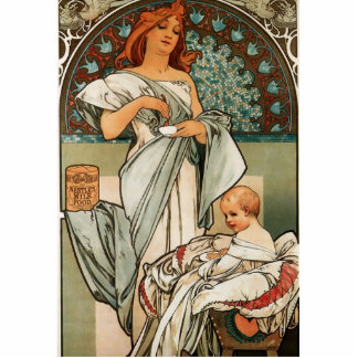 Mucha Art Cutout