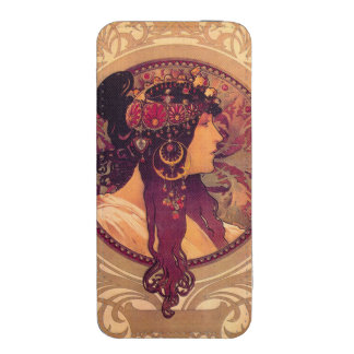 Mucha Art Deco iPhone 5 Pouch
