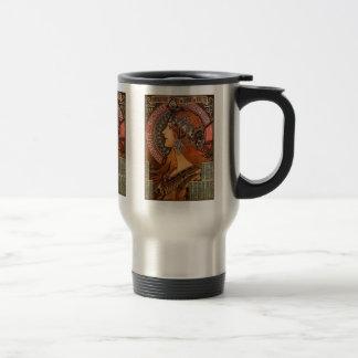Mucha - Art Nouveau Mugs
