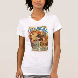 Mucha -  Bieres de la Meuse (Beer of the Muse) T-Shirt
