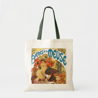 Mucha -  Bieres de la Meuse (Beer of the Muse) Tote Bag