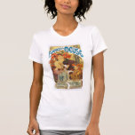 Mucha -  Bieres de la Meuse (Beer of the Muse) T-shirts