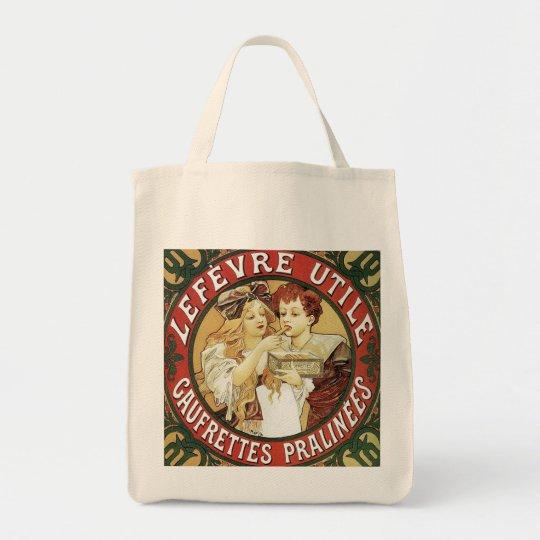 Mucha - Biscuits LeFevre-Utile - Nouveau Tote Bag
