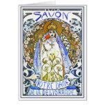 Mucha Card : Savon Notre-Dame