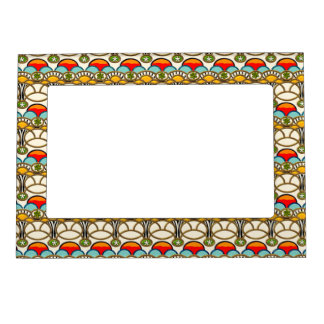 Mucha & Cliff (Magnetic Photo Frame) Magnetic Frame