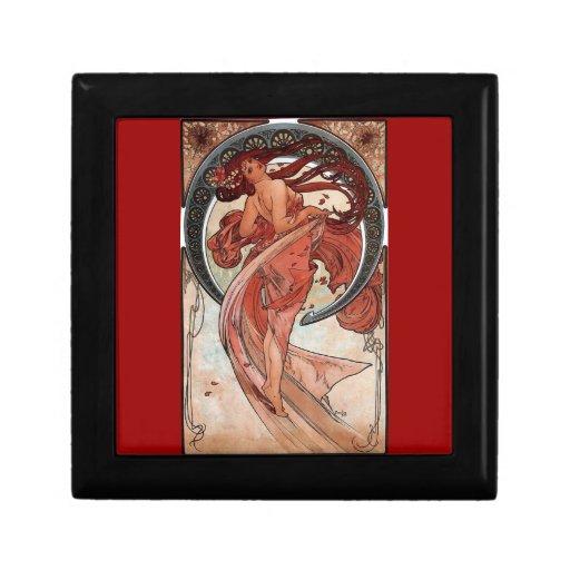 Mucha Dance art deco Jewelry Box