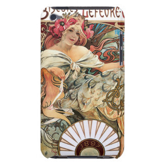 Mucha French Biscuits Food Advertisement iPod Case-Mate Case