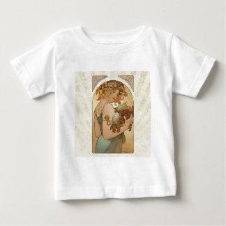 Mucha Fruits Vintage Design Baby T-Shirt
