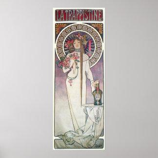 Mucha Goddess Poster