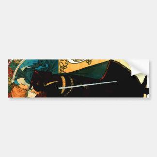 Mucha Hamlet Bumper Sticker