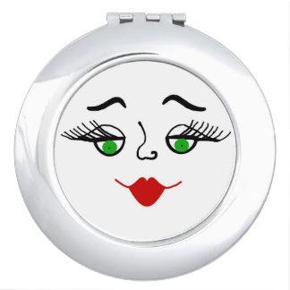 Mucha kissie face compact mirror