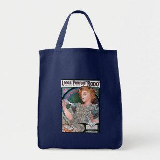 Mucha Lance Parfum Rodo perfume advertisement Tote Bag