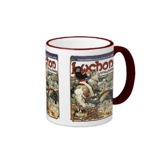 Mucha - Luchon -  Casino  -Art Nouveau Coffee Mugs