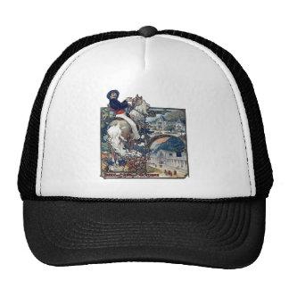 Mucha Luchon Old European City Art Nouveau Trucker Hats