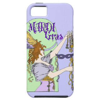 Mucha Mardi Gras iPhone SE/5/5s Case