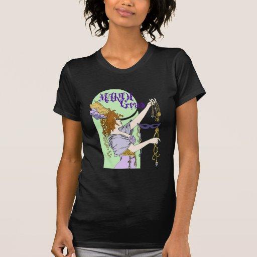 Mucha Mardi Gras Tshirt