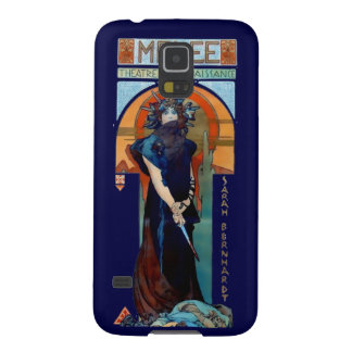 Mucha Medee Art Nouveau Woman Case For Galaxy S5