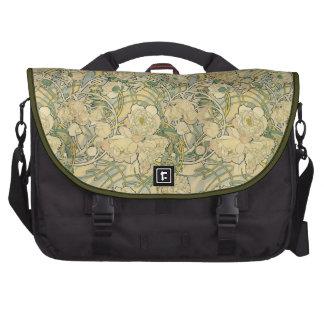 Mucha Peonies Laptop bag