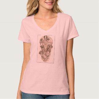 Mucha - Pink T-Shirt