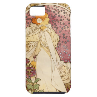 Mucha Poster Art Nouveau i Phone 5 Case iPhone 5 Covers