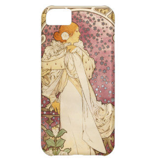 Mucha Poster Art Nouveau i Phone 5 Case Case For iPhone 5C