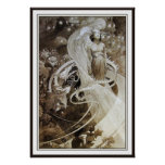Mucha Poster Print - Illustration from Le Pater ~